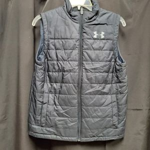 Youth Underarmour zip up puffer vest